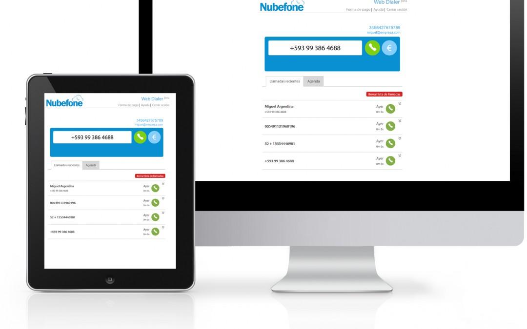 Nubefone Web Dialer