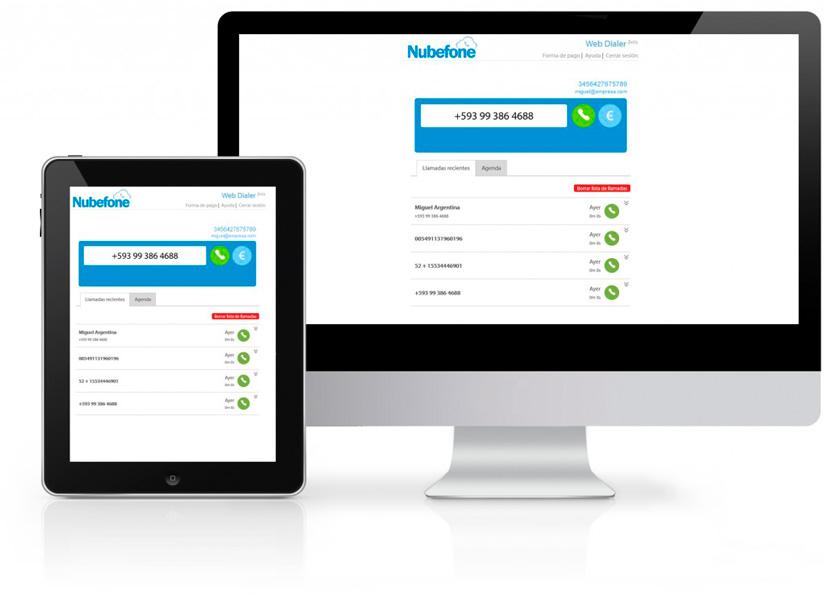 Web-Dialer-Nubefone